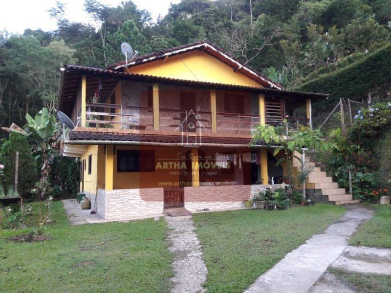 Venda casa duplex proxima ao centro de lumiar em rua sem saida e residencial linda vista