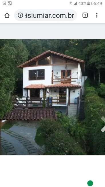 Lindo chalé duplex lindo projeto e fino acabamento com 234m de area contruida em local reservado e preservado.,