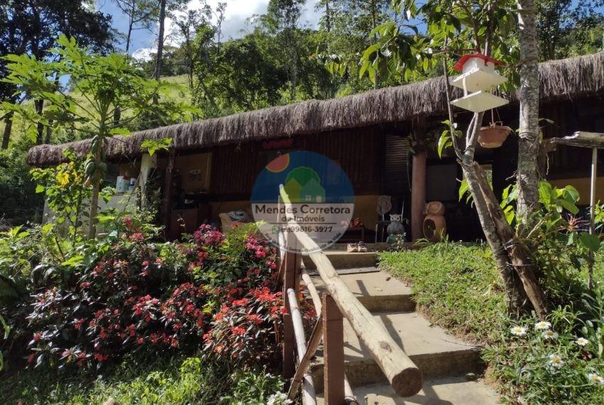Vendo Sitio Rio Bonito com casa simples, terreno com 5.000m  270 mil