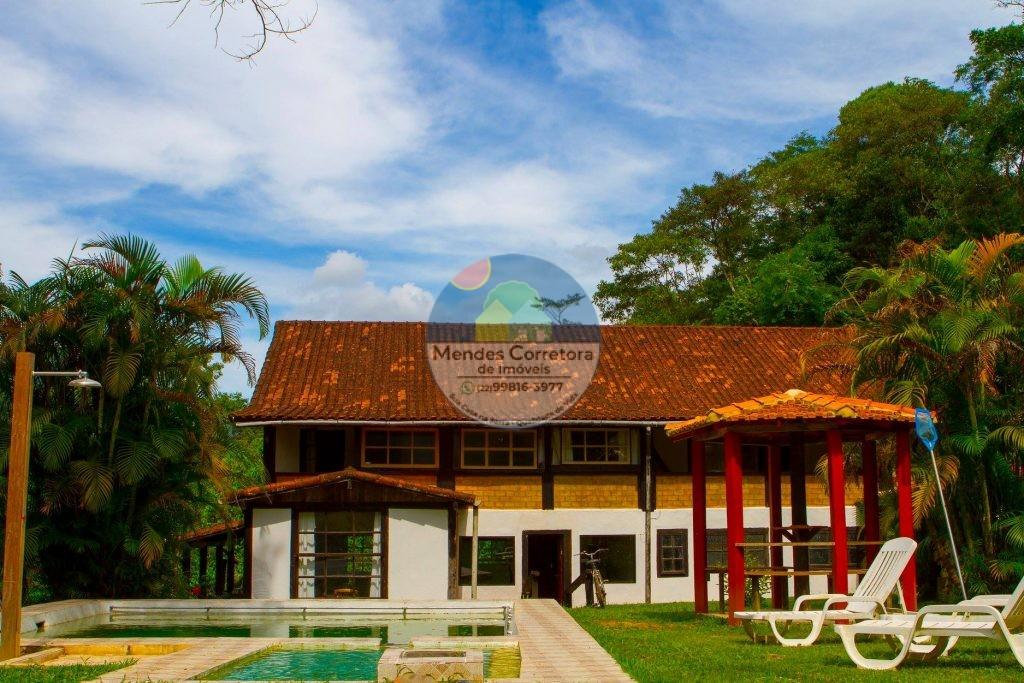 Vendo sitio legalizado tem casa ampla com 8 quartos sendo 6 suítes 2 piscinas ampla área plana e gramada…